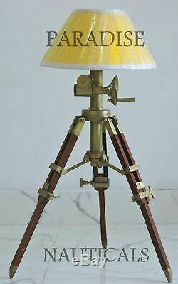 Matériau De Restauration Lampe De Table / D'appoint / Trépied En Bois Vintage Halloween