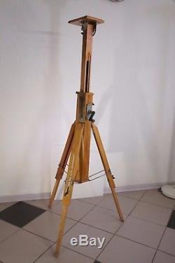 Pas D'appareil Photo! Trépied Russe En Bois Vintag Fkd 1960-1970 Du Siècle Dernier