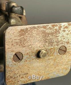Pieds Vintage Panrite Transit Caméra Bois Trépied Universel Head Made In USA