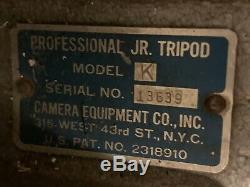 Professionnel Jr. Vintage Modèle Trépied En Bois K, Vieux Film Hollywood