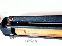 Recherche Rare! Vintage Wood Telescope Trépied