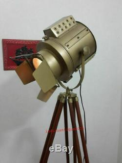 Rechercher Vintage Studio Light Designer Main Antique Trépied
