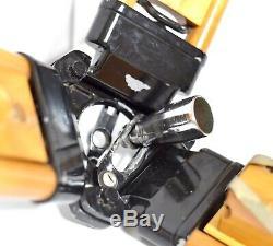 Support De Transit Réglable En Bois Vtg Support De Caméra Pour Lampe De Niveau Théodolite