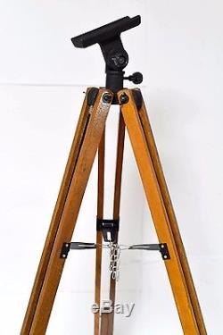 Supports De Transit Ajustables Pour Caméra À Plaques Caméra En Bois Et En Métal Vtg Support De Télescope