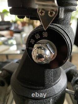 Télescope Vintage Eq Mount & Trépied En Bois Euc