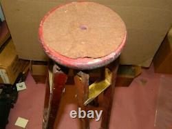 Testrite Vintage Wood & Brass Camera Tripod & Original Box Partie 18-9118.60-500