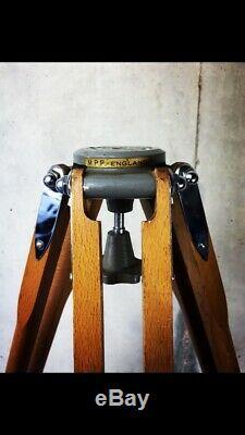 Trépied D'appareil Photo Mpp Vintage MID Century En Bois, Produit De Précision Micro Avec Patte Extensible