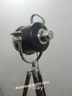 Trépied De Lampadaire Design Industriel Vintage