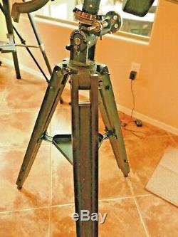Trépied De Télescope En Bois Noir Vintage Orion Et Support Eq Robuste