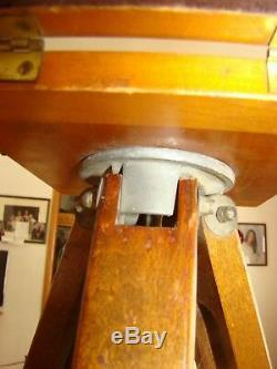 Trépied En Bois D'appareil-photo Se Pliant Antique De Style De Cru, Décoration À La Maison 57 Grands