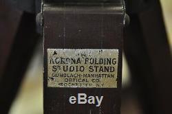Trépied En Bois Vintage Appelé Korona Folding Studio Stand