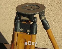 Trépied En Bois Vintage, Support, Théodolite, Théo, Loft, Lampe