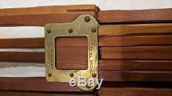 Trépied Réglable Couronne N ° 1 Vintage Folmer Graflex Crown