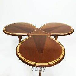 Unique Horse Petal Hoof Tripod Table Basse Midcentury Antique 50s 60s Vintage