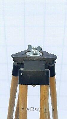 Vieux Bois Trépied Réflecteur Support Lampadaire Design Industriel Loft Vintage 153cm