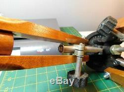 Vintage # 91933-2 Stoddard Aircraft Radio Co. Tri-lok Bois Tri-pod Camara Stand