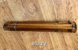 Vintage Antique Zeiss Ikon Plis Trépied En Bois / S'étend 18 À 30 À 42-52
