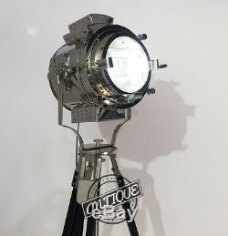 Vintage Big Floor Lamp Show-room Salle Decor Trépied Hollywood Films P