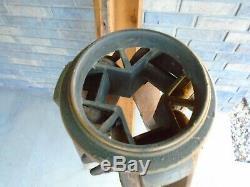 Vintage Camera Brass Transit Bois Trépied Niveau De Stand Surveyor Mont Steampunk