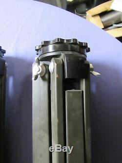 Vintage Keuffel Esser 3-1 / 2 X 8 Trépied En Bois Jamais Utilisé Marqué Nous Goverment