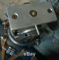 Vintage Movie Camera Trépied National Cine Equipment Co. Belle Cond