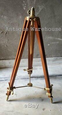 Vintage Nautique Moderne Lampe Trépied Main Design Abat-jour Trépied
