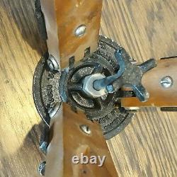 Vintage Ries Hollywood Tri-lock Trépied En Bois No. 1200 Modèle C