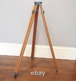 Vintage Sharman Camera Works San Francisco Wood Wooden Camera Tripod
