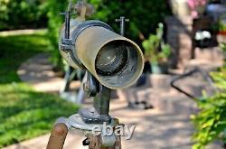 Vintage Ww1 Antique Ct & S Spotting Scope Telescope & Trépied