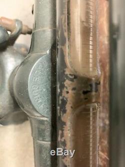 W & L E Gurley Vintage Wood Brass Arpenteurs Transit Trépied Portée Transit Enquête